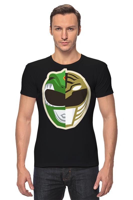 Футболка Стрэйч Printio Могучие рейнджеры футболка с полной запечаткой printio могучие рейнджеры power rangers