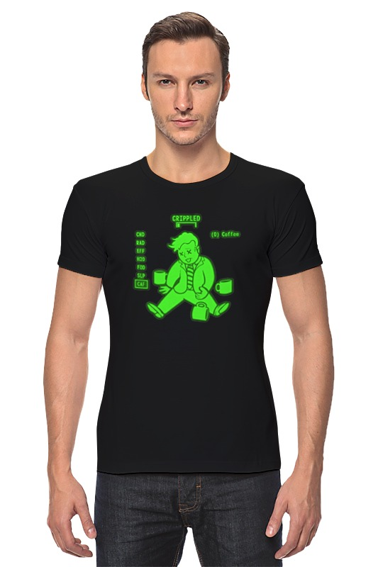 Футболка Стрэйч Printio Fallout boy футболка классическая printio fallout фэллаут