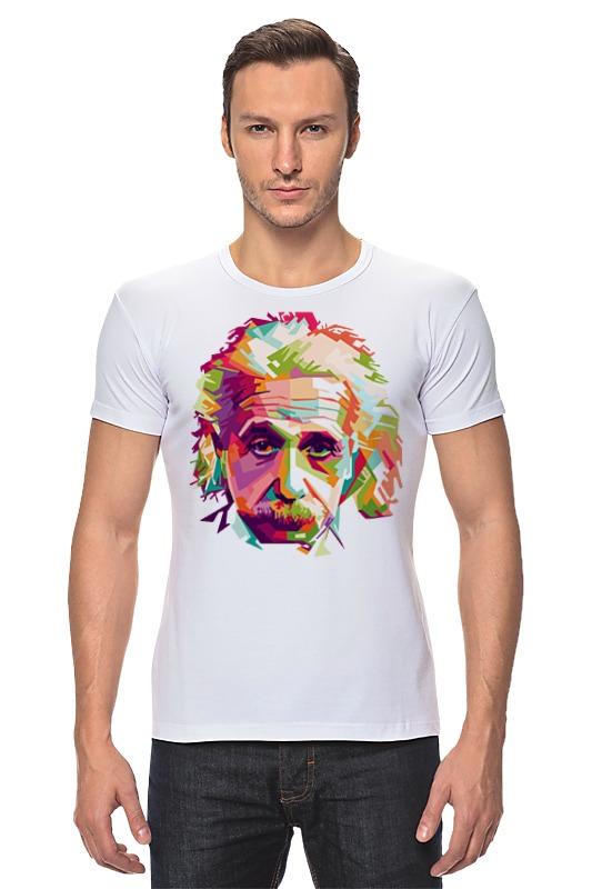 Футболка Стрэйч Printio Альберт эйнштейн (albert einstein) книги феникс так говорил альберт эйнштейн