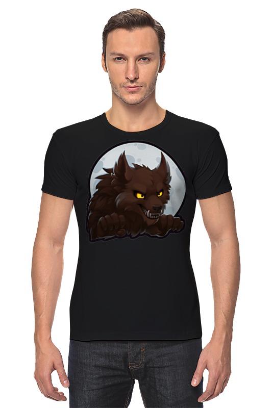 Футболка Стрэйч Printio Werewolf футболка стрэйч printio делай добро