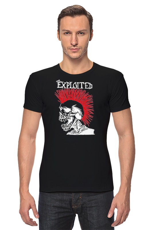 Футболка Стрэйч Printio The exploited the exploited the exploited apocalypse tour 1981 limited edition lp