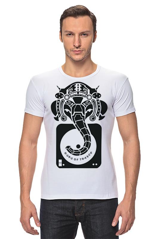 Футболка Стрэйч Printio Guru of trance футболка для беременных printio guru of trance