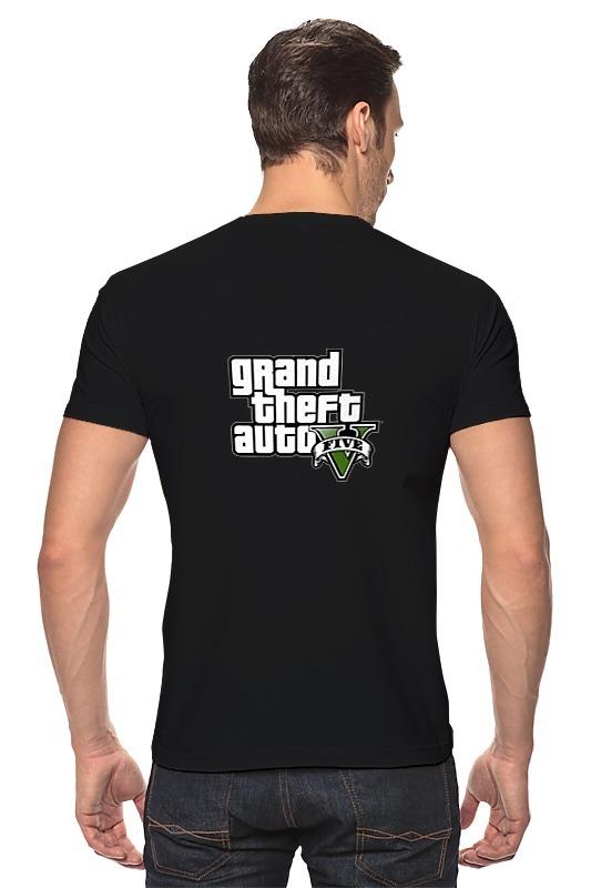 Футболка Стрэйч Printio Gta 5 футболка стрэйч printio gta 5 trevor