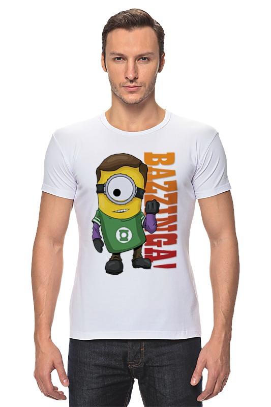 Футболка Стрэйч Printio Minion bazzinga футболка стрэйч printio minion bazzinga