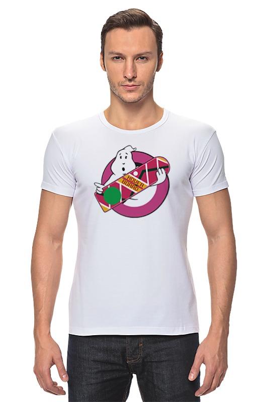Футболка Стрэйч Printio Охотники за привидениями (назад в будущее) футболка стрэйч printio назад в будущее 2