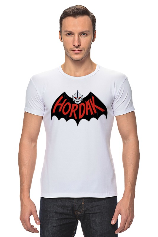 Футболка Стрэйч Printio Hordak (masters of the universe) толстовка wearcraft premium унисекс printio hordak masters of the universe