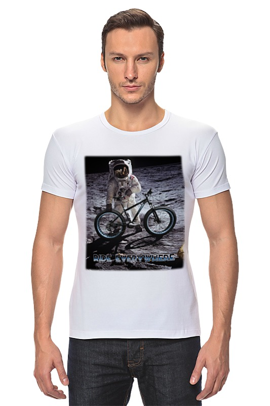 Футболка Стрэйч Printio Ride everywhere футболка стрэйч printio hard ride