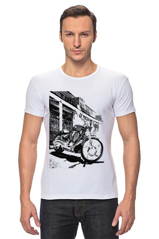 Футболка Стрэйч Printio Мотоциклы футболка стрэйч printio мотоциклы
