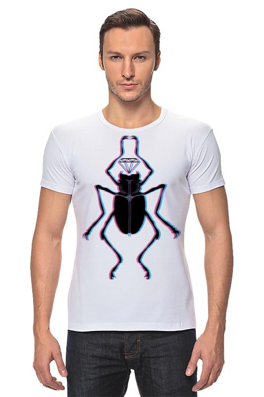 Футболка Стрэйч Printio Жук и алмаз футболка классическая printio вольскваген жук