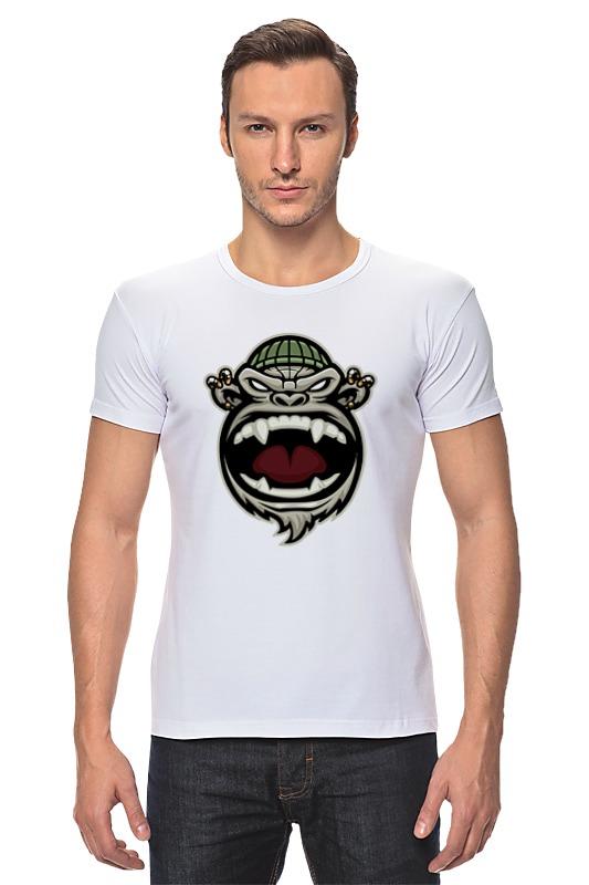 Футболка Стрэйч Printio Обезьяна (monkey) футболка стрэйч printio hamlet monkey