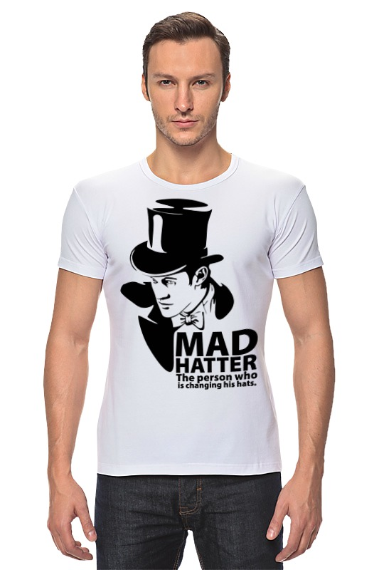 Футболка Стрэйч Printio Mad hatter (doctor who) футболка рингер printio доктор кто doctor who