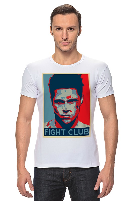 Футболка Стрэйч Printio Tyler durden (fight club) игра