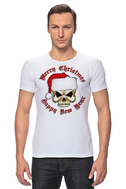 Футболка Стрэйч Printio Santa skull футболка santa