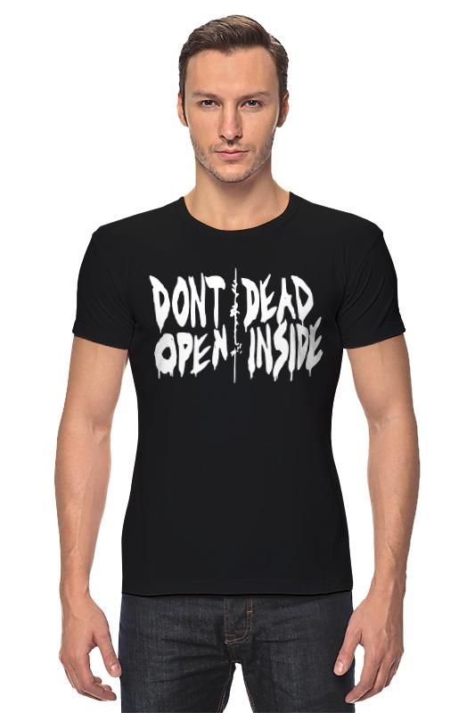 Футболка Стрэйч Printio Don't open dead inside dead inside volume 1