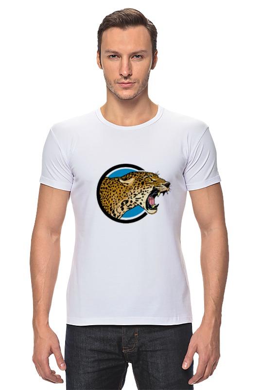 Футболка Стрэйч Printio Ягуар футболка wearcraft premium printio ягуар хк 120