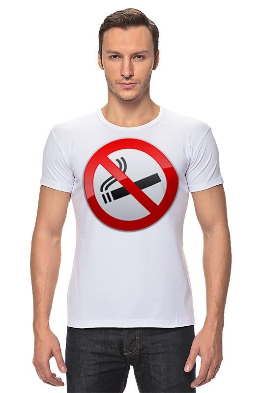 Футболка Стрэйч Printio No smoking футболка wearcraft premium printio no smoking
