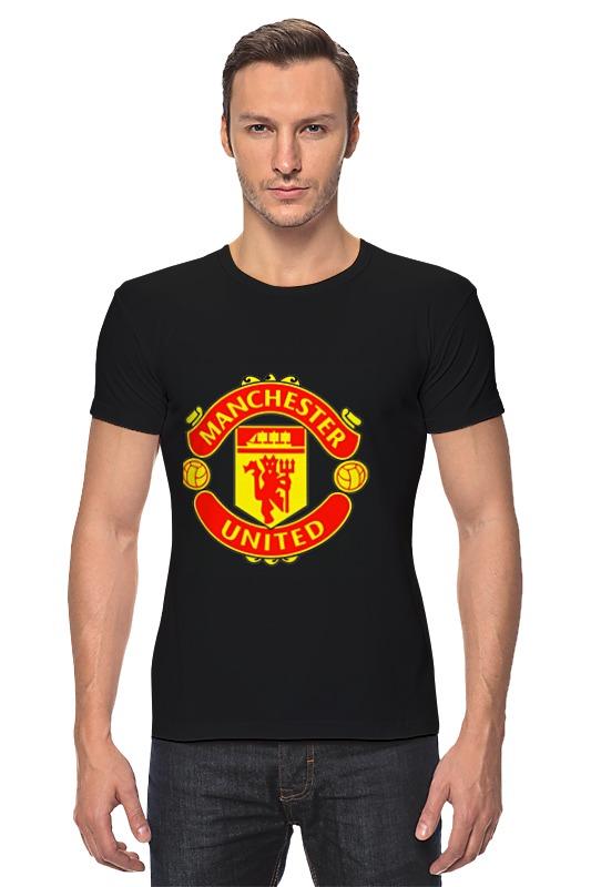 Футболка Стрэйч Printio Manchester united футболка стрэйч printio manchester united