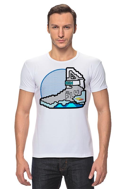 Футболка Стрэйч Printio Кроссовки (назад в будущее) футболка стрэйч printio назад в будущее 2