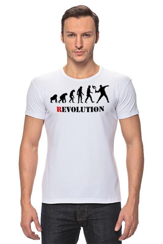 Футболка Стрэйч Printio Evolution - revolution