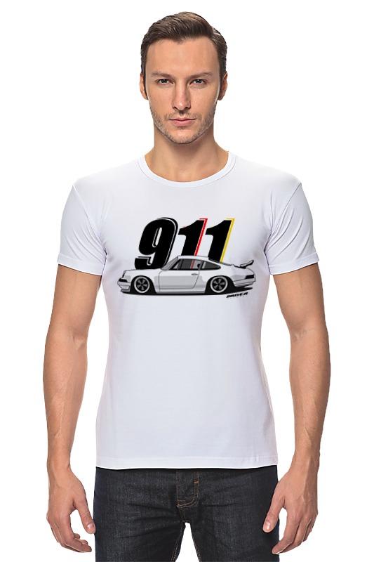Футболка Стрэйч Printio Porsche carrera 911 купить юбку бампера порше 911
