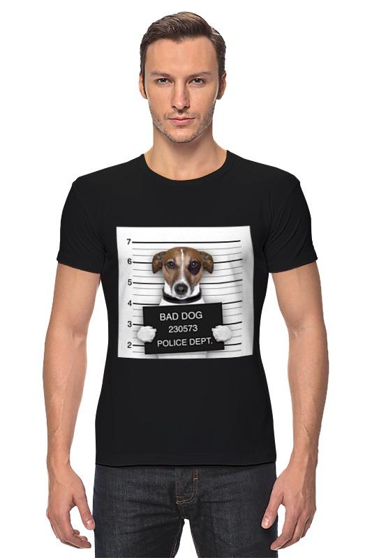 Футболка Стрэйч Printio Bad dog (плохой пес) сумка printio gta 5 dog