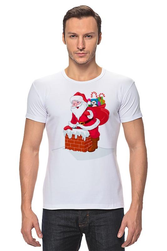 Футболка Стрэйч Printio Дед мороз с подарками детская футболка классическая унисекс printio дед мороз