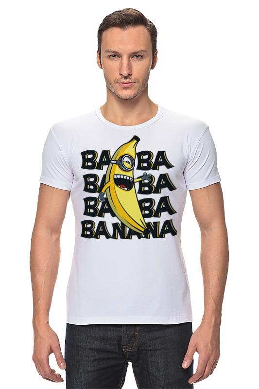 ba 110fl 3a Футболка Стрэйч Printio Ba ba banana