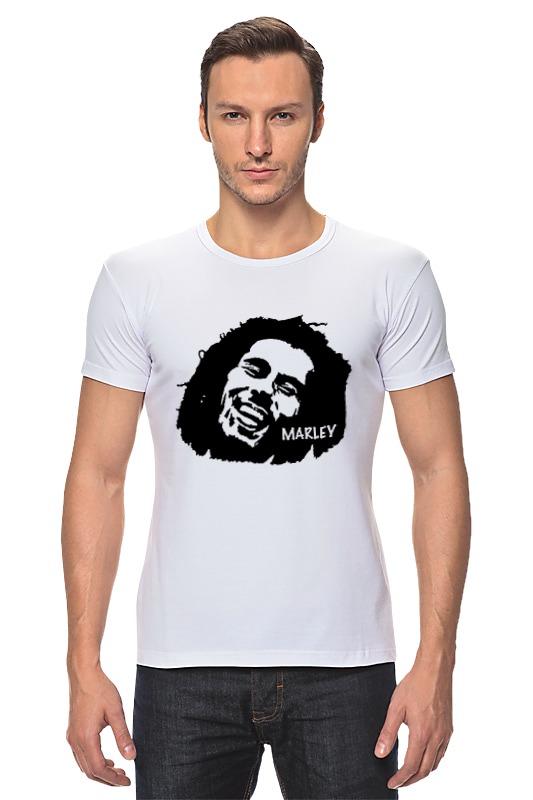 Футболка Стрэйч Printio Marley футболка стрэйч printio bob marley rasta