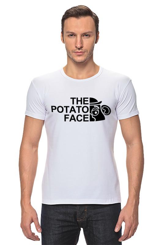 Футболка Стрэйч Printio Картошка футболка wearcraft premium printio картошка