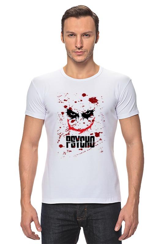 Футболка Стрэйч Printio Джокер (psycho) psycho psycho you love us…you hate us