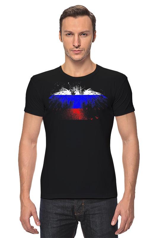 Футболка Стрэйч Printio Флаг россии футболка стрэйч printio штаты россии