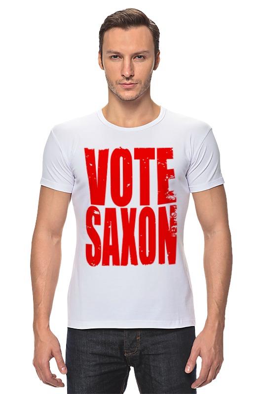 Футболка Стрэйч Printio Vote saxon (doctor who) футболка классическая printio vote saxon doctor who
