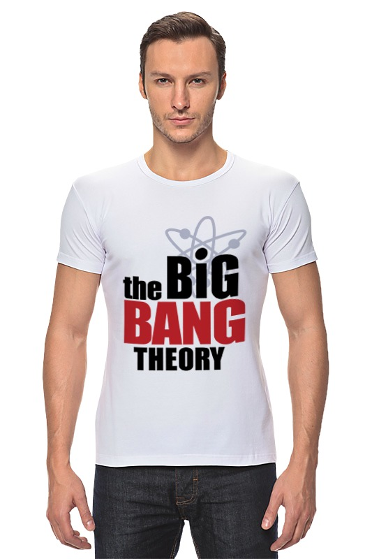 Футболка Стрэйч Printio The big bang theory the big bang theory series the flash design cotton t shirt red size m