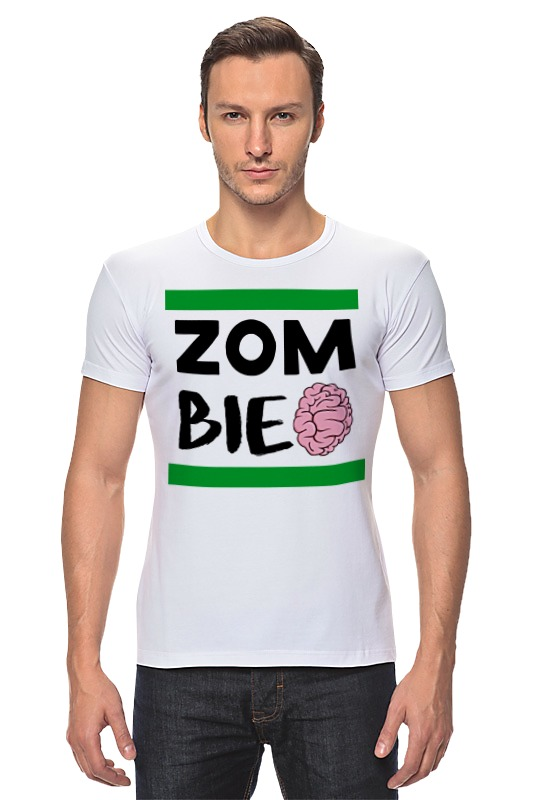Футболка Стрэйч Printio Зомби (zombie)