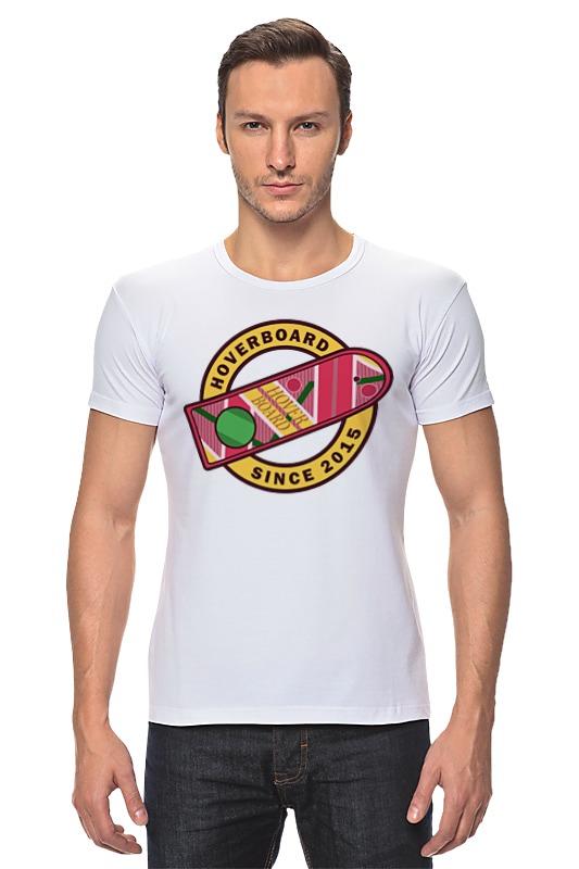 Футболка Стрэйч Printio Ховерборд (назад в будущее) футболка стрэйч printio назад в будущее 2