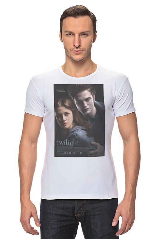 Футболка Стрэйч Printio The twilight saga / сумерки fanpire the twilight saga and the women who love it