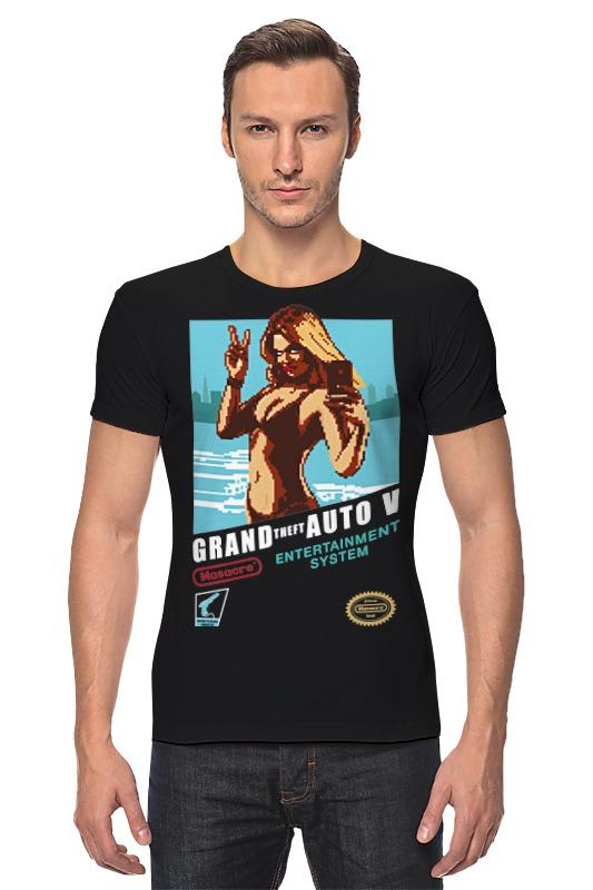 все цены на Футболка Стрэйч Printio Grand theft auto v онлайн