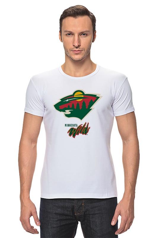 Футболка Стрэйч Printio Minnesota wild / nhl usa футболка wearcraft premium printio los angeles kings nhl usa