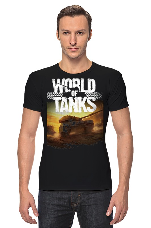 Футболка Стрэйч Printio World of tanks футболка для беременных printio world of tanks generals