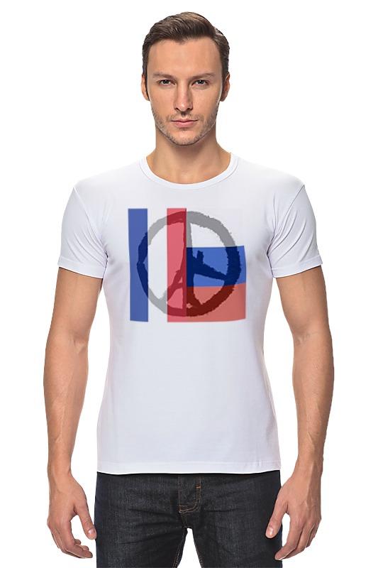 футболка стрэйч printio pray for paris молитесь за париж Футболка Стрэйч Printio Pray for world