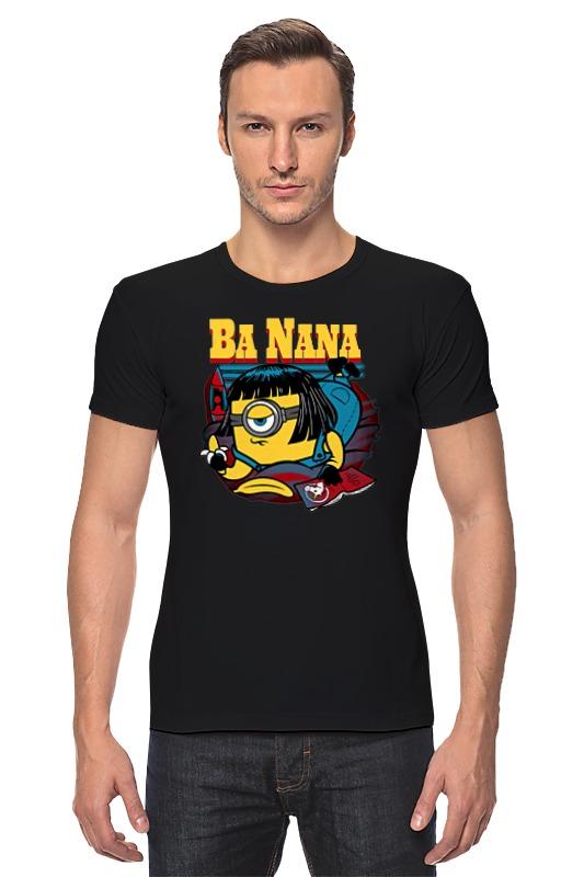 Футболка Стрэйч Printio Banana fiction свитшот print bar banana fiction