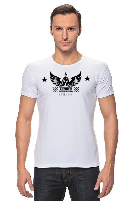 Футболка Стрэйч Printio Arsenyev - mma team legion футболка мужская mma a3 ufc venum team shogun tap out