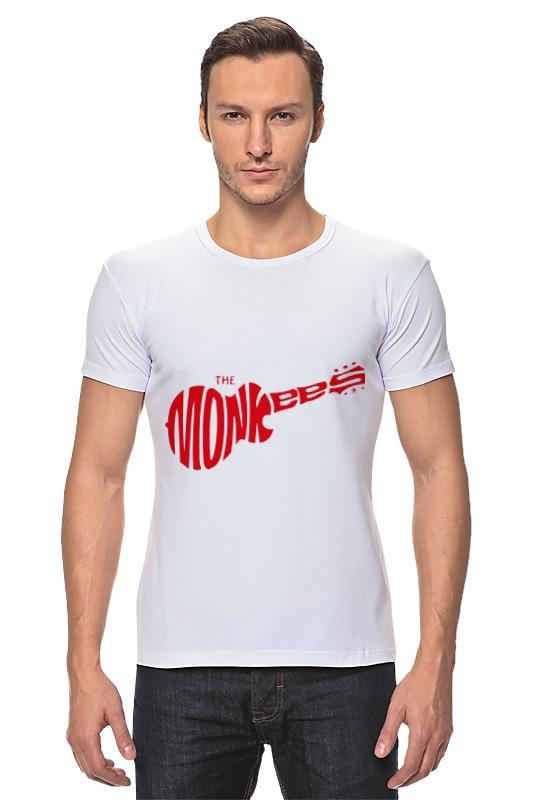 Футболка Стрэйч Printio The monkees