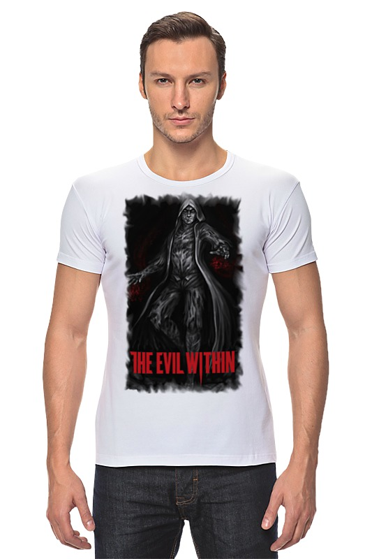 Футболка Стрэйч Printio The evil within