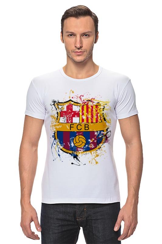 Футболка Стрэйч Printio Барселона чартер для всех