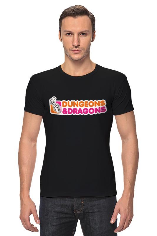 Футболка Стрэйч Printio Dungeons & dragons dragons фигурка toothless сидящий