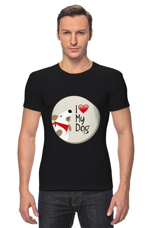 Футболка Стрэйч Printio My dog сумка printio gta 5 dog