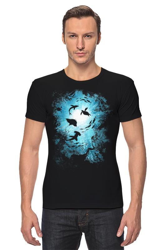 Футболка Стрэйч Printio Подводный мир де ла бедуайер камилла подводный мир