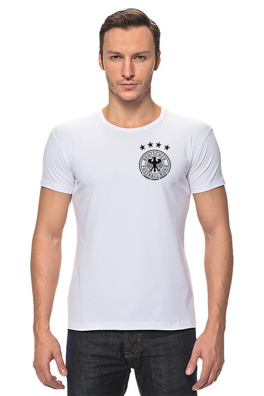 Футболка Стрэйч Printio Сборная германии по футболу 2016 сумка printio с пробегом по германии