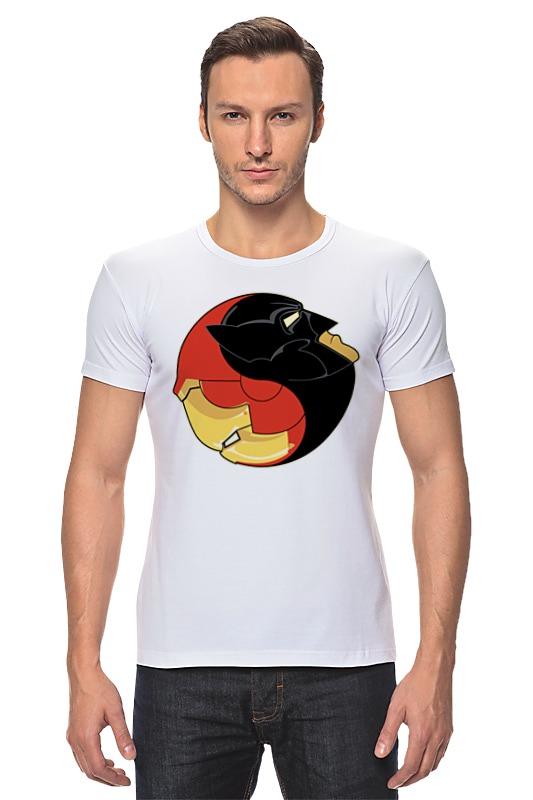 Футболка Стрэйч Printio Batman x iron man футболка стрэйч printio ice king x batman